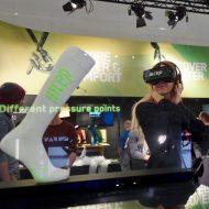 VR Brillen am CEP ISPO STAND 2017 in München