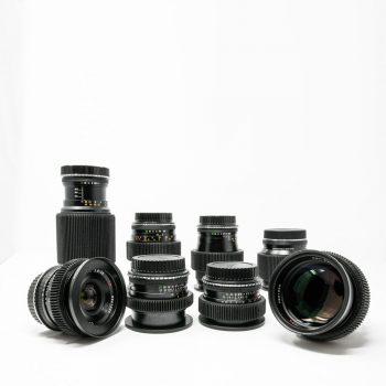 Zeiss Contax Cine Mod Lens Set MMJ