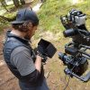 DOP Florian Maderebner pre framing a highspeed cable cam shot rental